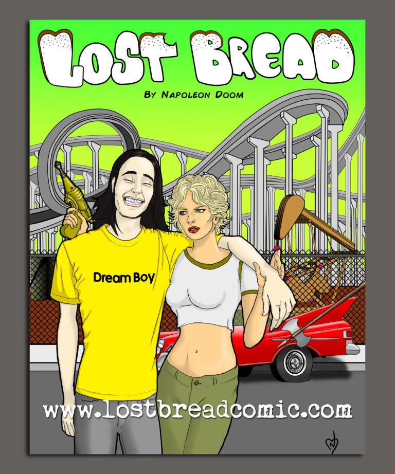 Lost Bread Comic Sticker